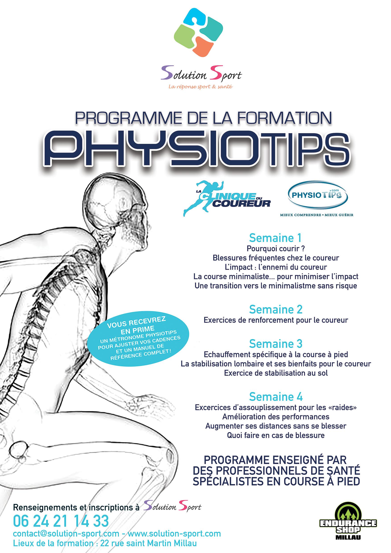 web physiotips - programme